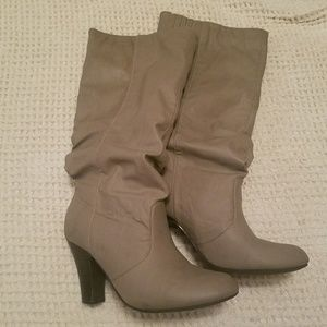 Beige/Taupe Charlotte Russe boots